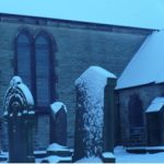 Eldon St Mark's Church under snow
